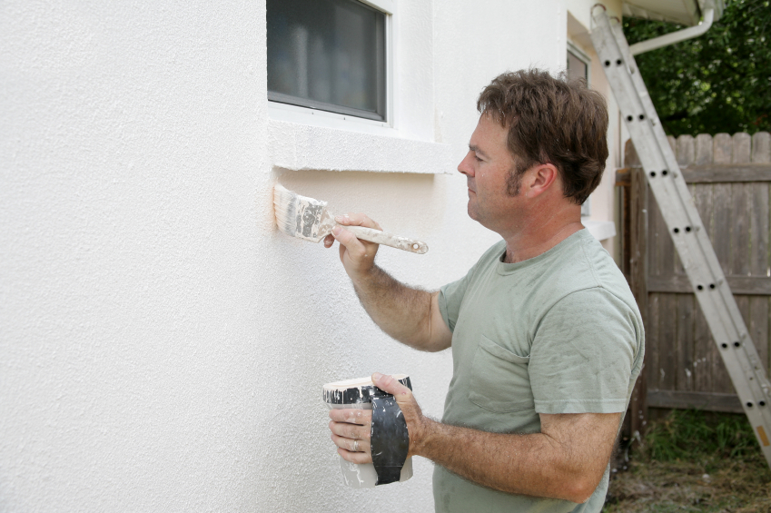 Exterior Paint Application For Beachfront Property In South Florida