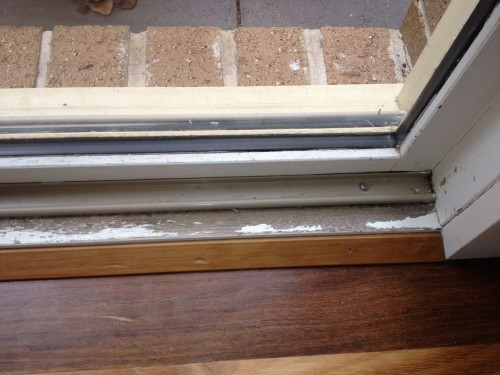 Repairing And Repainting A Weathered Door Sill Tmz Painting