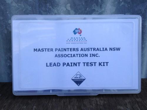Lead Paint Test Kit