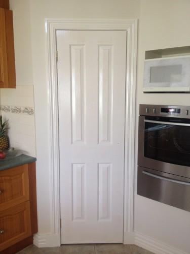 Enamel Painted Door Lost Shine