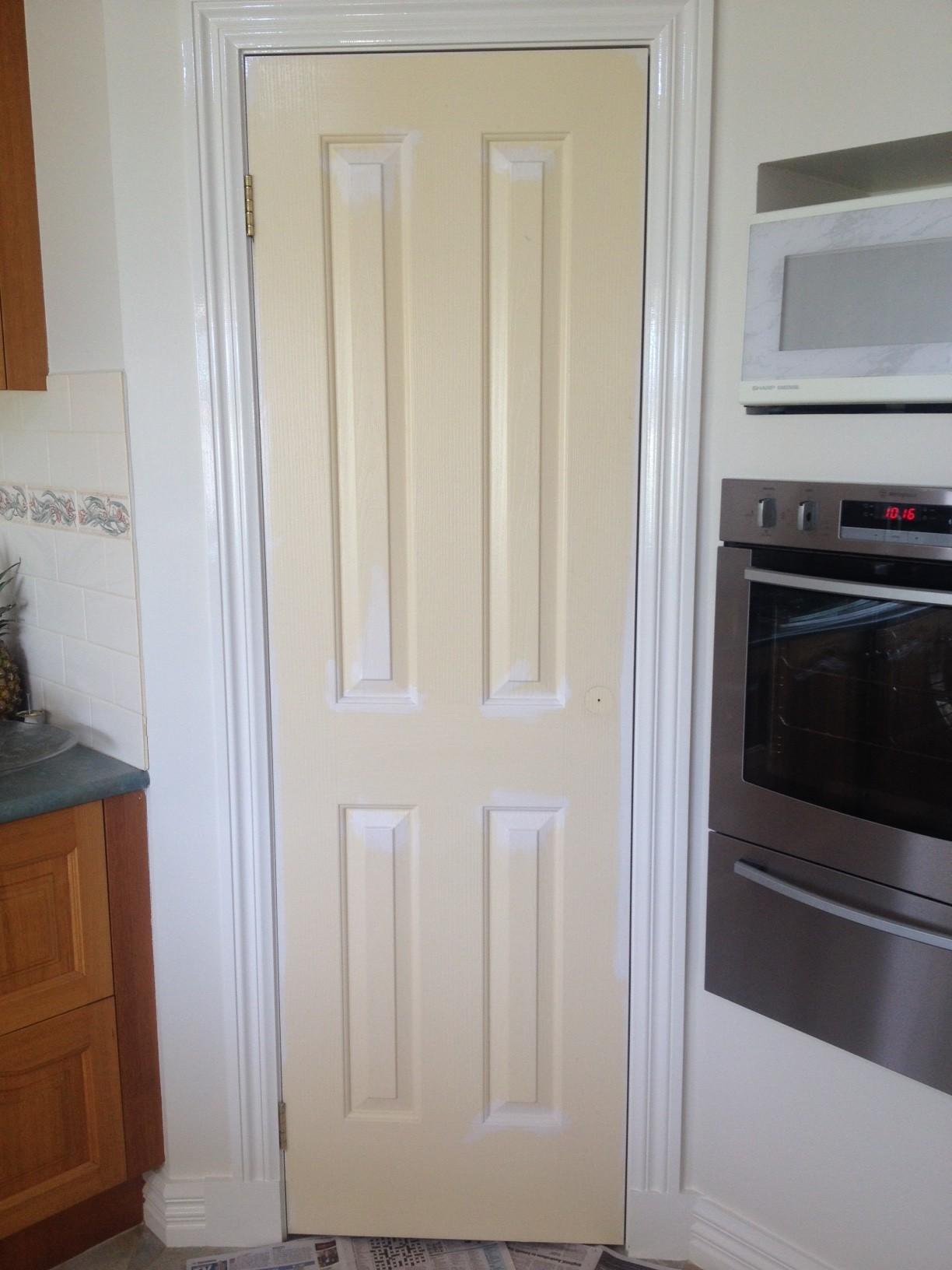 Paint Roller Door Selling Houses Australia