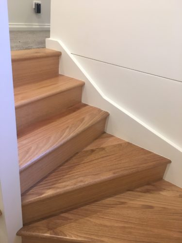 Timber Varnish Stairs