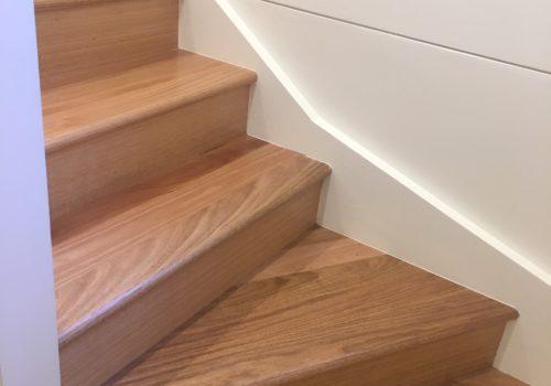 Timber Varnish Stairs