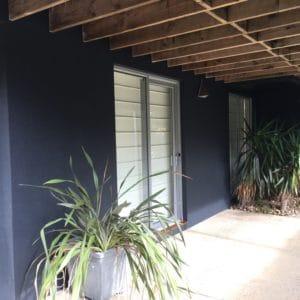 Repainting Rendered Walls #10