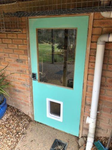 Painting Exterior Door in Doncaster